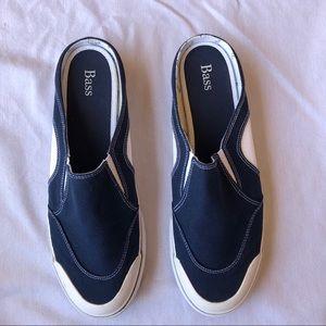 Bass Navy Bonaire Mule Sneakers 11M